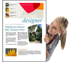 Tuscan Home Decorating Magazine Tuscan Designer