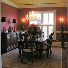 Tuscan design interiors tuscan home 101 for Tuscan dining room ideas