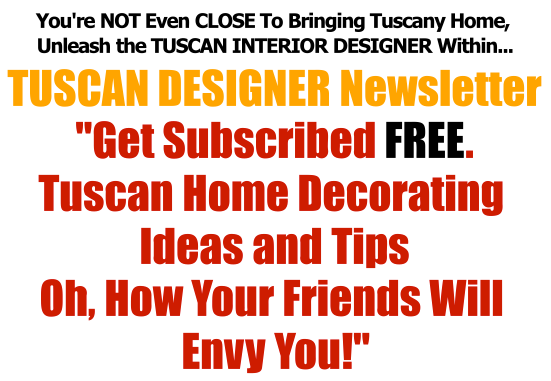 Not Even Close Tuscan Designer News