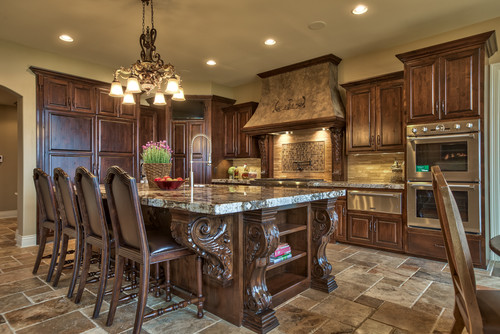 Tuscan kitchen design tuscan home 101 for Home design kitchen decor