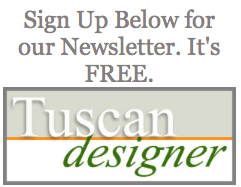 Sign Tuscan Designer