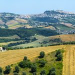 Marches (Italy) - Landscape near Fermo and Monterubbiano at summer