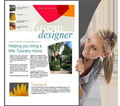 Tuscan Designer Magazine