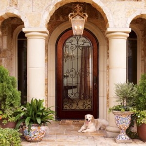 Tuscan Home Door