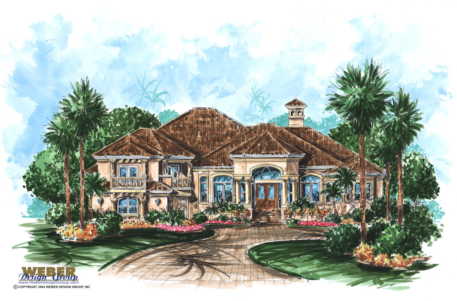 Tuscan home design tuscan home 101 for Tuscan roof house plans