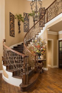 Tuscan Home Decor Staircase