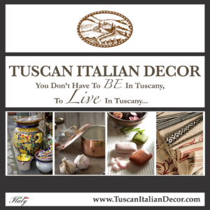 Tuscan Italian Decor - Shop Now